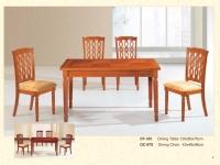 木製長方餐桌 381 / 餐椅 978