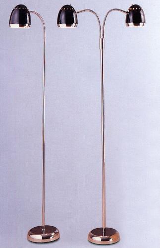 鐵地燈連磨砂玻璃燈罩