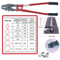 "Cens.com 24"" Hand Swager With Wire Cutter/ Crimping Tool GREAT FULL ENTERPRISE CO., LTD."