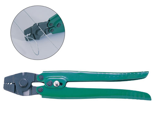 "10"" Hand Swager With Wire Cutter/ Fishing Tool"