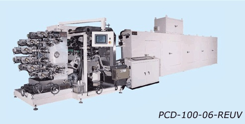 Computerized 4-6  Color Printing, Coating & Drying M/C
