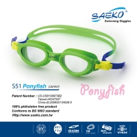 S51 Ponyfish kids swimming goggles