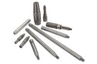 Output shaft, eccentric shaft, compression joint