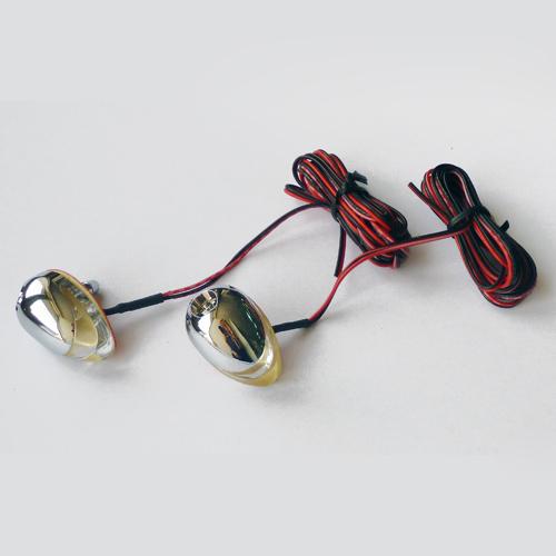 Windshield washer nozzle  w/LED