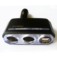 Folding USB + dual-socket adapter