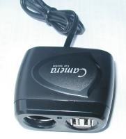 Triple-socket adapter