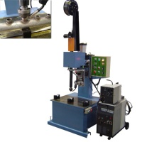Vertical Auto Rotary Welding Table (with rotary CO2 welding gun and profiling mold)