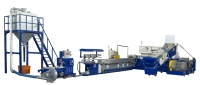 STRAND TYPE PET PLASTIC RECYCLING MACHINE