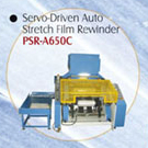 Servo-driven Auto Stretch Film Rewinder