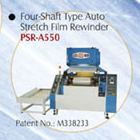 Cens.com Four-shaft Type Auto Stretch Film Rewinder 龍盟機械股份有限公司