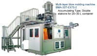 Double Station Multi Layer Blow Molding Machine