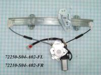 Automotive power window regulators