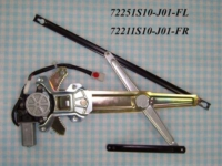 Automotive power window regulators