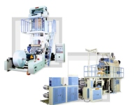 HDPE/LDPE/PP Inflation Tubular Film Making Machine