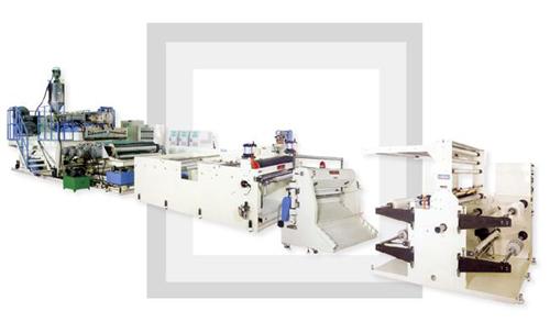 塑胶板制造机