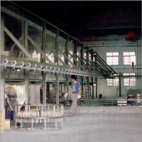 Large-Workpiece Auto Dipping Spinning, and Coating Furnace
