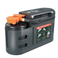 DC 12V inflator with tire sealant