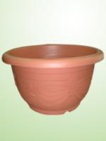 Plastic decorative planters