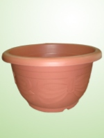 Plastic decorative planters