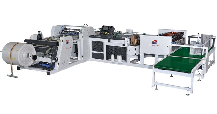 全自動編織袋裁切縫製機