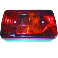 E marked Euro rear lamp for trailers and trucks