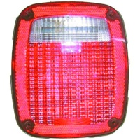 Rear lamp used for both Euro and US market