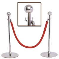 Cens.com Crowd Control Stanchions, Velvet Cordon & Flag Base MING YIN ENTERPRISE CORP.