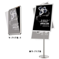 Innovative Poster Hanger & Sign Stand
