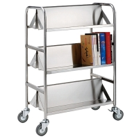 Two-sided Book Trolley