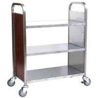 Three-tier Book Trolley