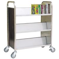 Three-tier, Tilt-shelf Book Trolley