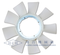CANTER 3.5T 5TH 4P10 2013 TRUCK ENGINE FAN