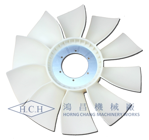 CAT320D COOLING FAN