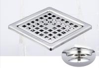 御品师 9x9 自动防臭、防蚊地板落水头 (方形孔)