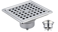 10x10 Anti-Odor/Mosquito Floor Drain W/Flood Guard