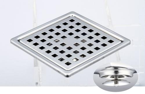 御品师 10x10 自动防臭、防蚊地板落水头 (方形孔)