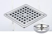 御品師 10x10 自動防臭、防蚊地板落水頭 (方形孔)