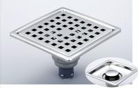 御品師 10x10 內按壓式附蓋防蟲、防臭地板落水頭