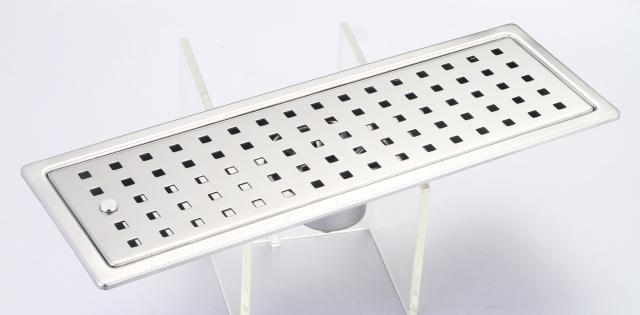 御品師 10x30 防臭、防蚊水門型方形孔集水槽 (附水門、攔截片)