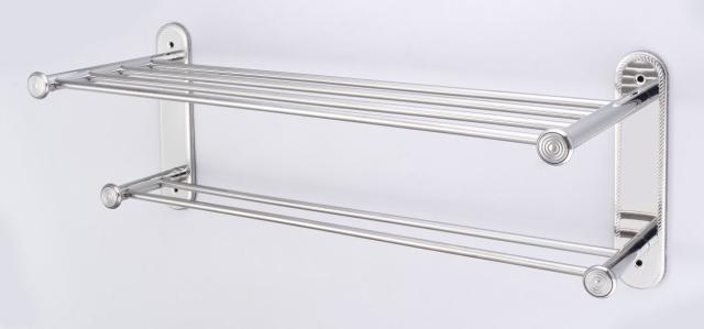 御品師 不銹鋼浴室雙層固定架