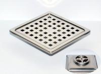 御品師 10x10 傳統型地板落水頭