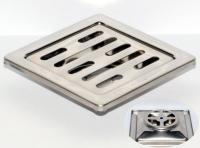 御品師 9x9 傳統型地板落水頭 (長條孔)