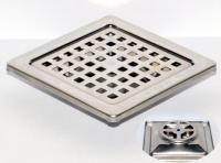 御品師 9x9 傳統型地板落水頭 (方型孔)