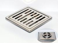御品師 10 x10 傳統型地板落水頭 (長條孔)
