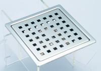 御品师14X14 防蟑防臭水门型不锈钢欧式地板 (方形孔)