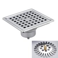 10x10 Anti-Odor/Mosquito Floor Drain W/Flood Guard