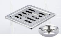 御品师 9x9 自动防臭、防蚊地板落水头 (长条孔)