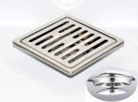 御品師 10x10 自動防臭、防蚊地板落水頭 (長條孔)