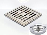 御品师 10x10 自动防臭、防蚊地板落水头 (长条孔)