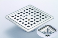 御品師 10x10 存水型 地板落水頭 正方孔